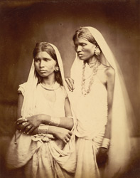 Unidentified female group, Eastern Bengal. 36